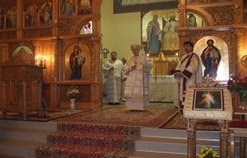 Vizita pastorală a P. S. Episcop Florentin Crihălmeanu, la Dej
