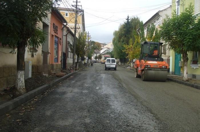Lucrări majore în zona adiacentă centrului municipiului