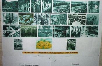 Expoziție: Comemorarea Holocaustului în România și la Dej