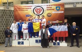 Dejeanul Dorin Pănescu, de două ori campion mondial într-un singur campionat