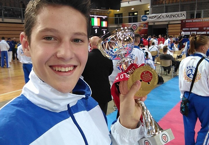 Dorin Pănescu, adolescentul dejean, dublu campion mondial
