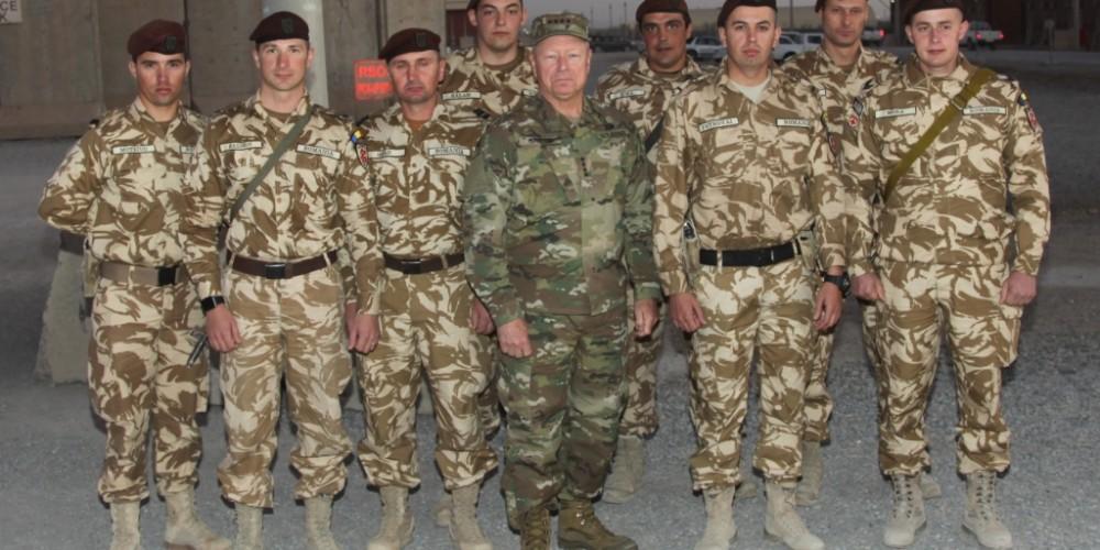 Dragonii Transilvani au primit distincții din partea armatei SUA