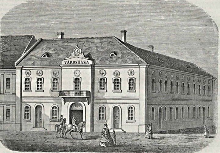 Primăria orașului Dej, din secolul al XVII-lea până în prezent