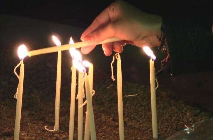Dejul a aprins lumânări în memoria victimelor de la Colectiv