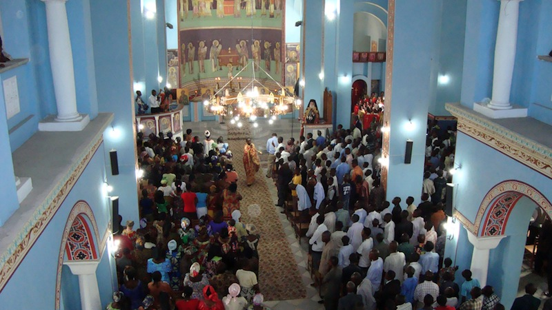 Conferinţa părintelui misionar Damaschin Grigoriatul, la Dej