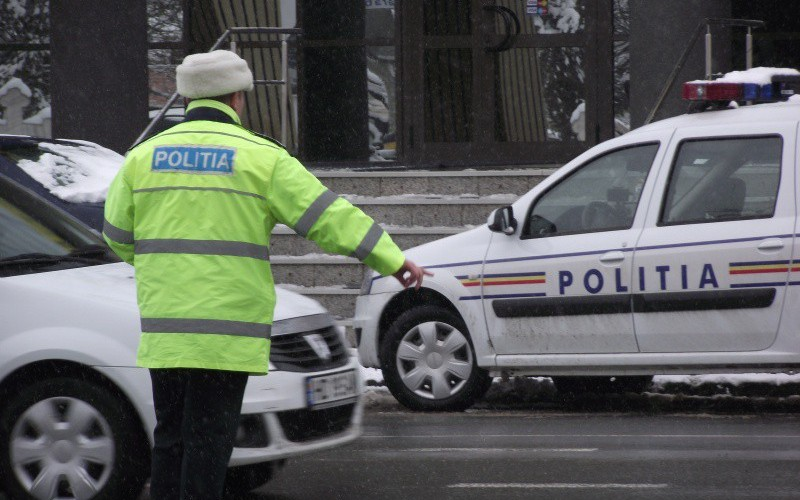 Amenzi pentru șoferii care nu au cauciucuri de iarnă