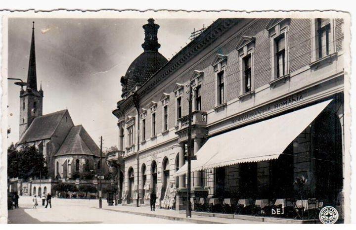 """Restaurantul """"Dacia"""", un monument istoric din centrul Dejului"""