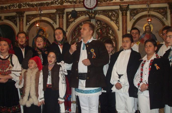Concert de colinde, la Biserica Parohiei Ortodoxe Dej II