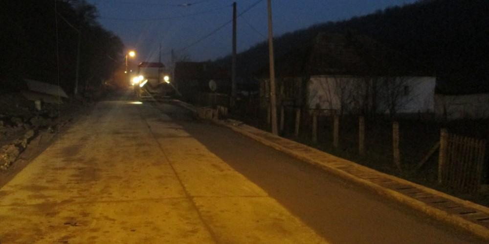 Încă puțin și strada Jichișului este finalizată!