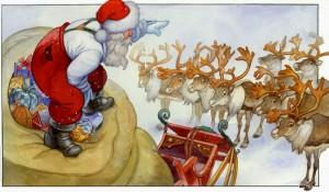 Santa-On-Toys-Sack