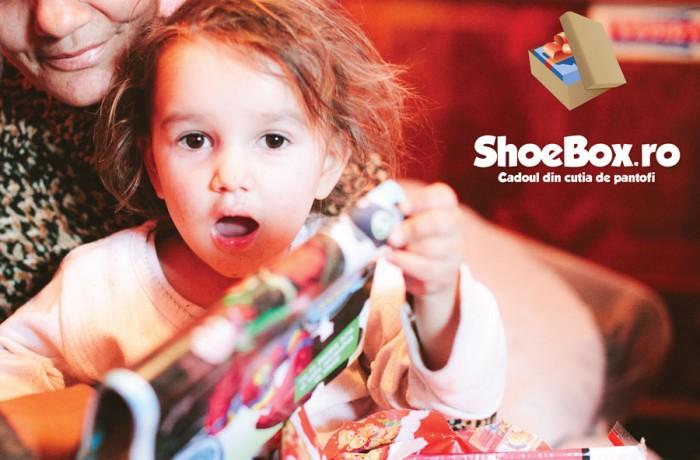 Shoebox la Dej- Bucuria din cutia de pantofi