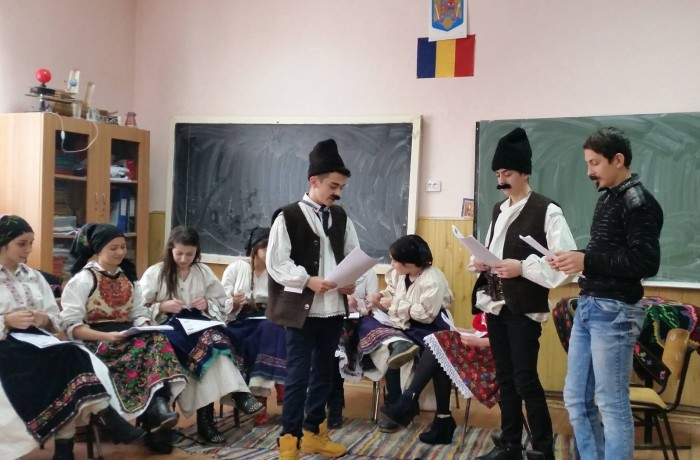24 Ianuarie, sărbătorit la Şcoala Gimnazială din  Chiuieşti