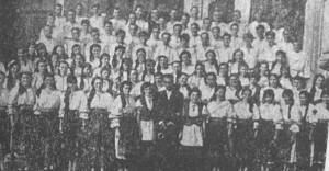 Corul din Ocna Dejului, 1962