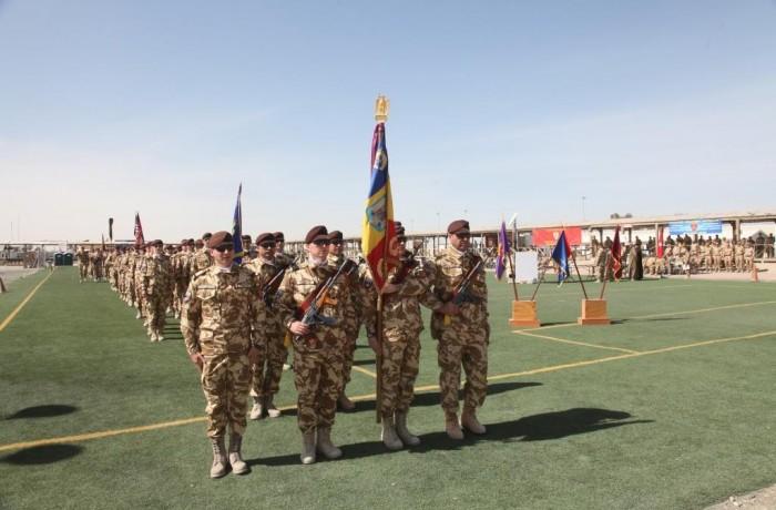 """""""Dragonii Transilvani"""" au predat aria de responsabilitate, colegilor nou veniţi în Kandahar"""