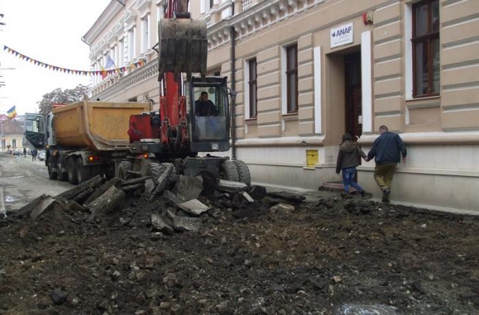 Strada Mihai Eminescu se modernizează!