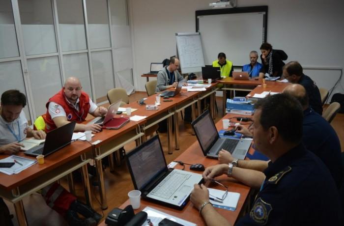 Exerciţiu internaţional de protecţie civilă  desfăşurat la Cluj