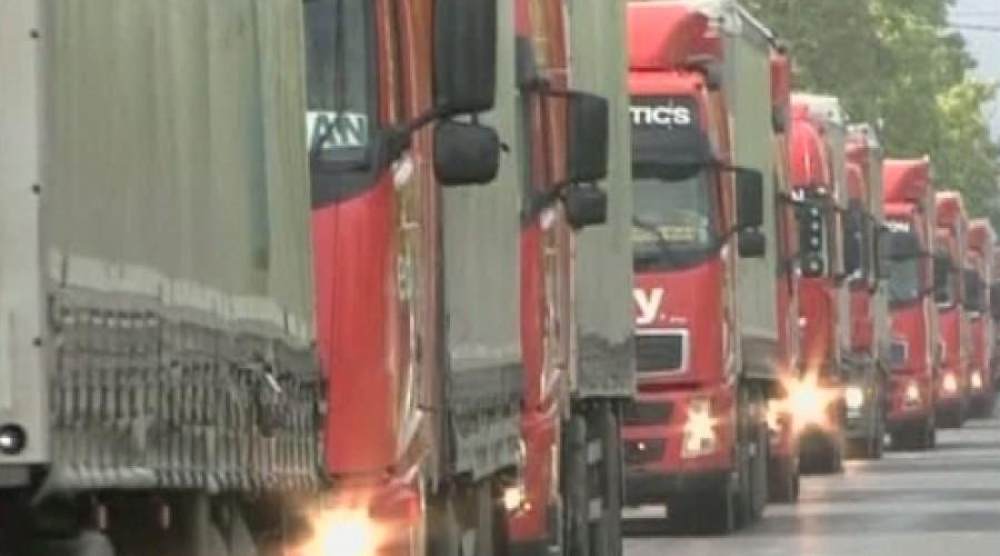 Transportatorii vor să scoată 40.000 de camioane în stradă