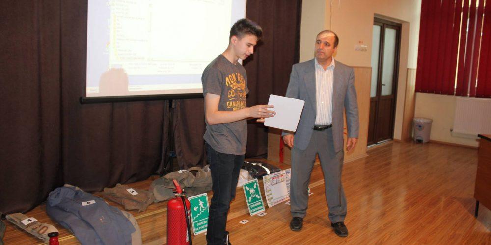 """Concurs SSM şi PSI, la Liceul Tehnologic """"Constantin Brâncuşi"""" Dej"""