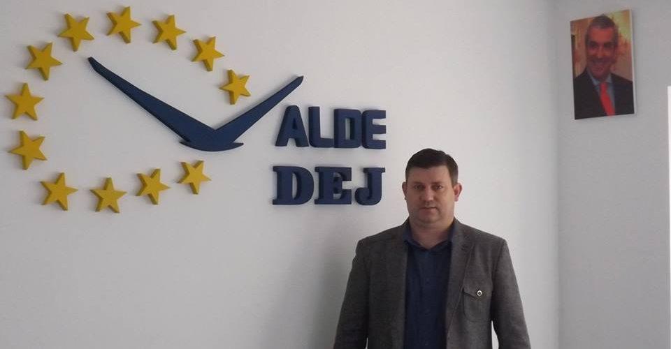 Vicențiu Știr, candidatul ALDE pentru funcția de primar al muncipiului Dej