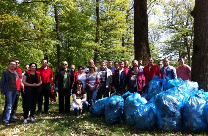 Ecologizarea Pădurii Bungăr, în atenția PSD Dej