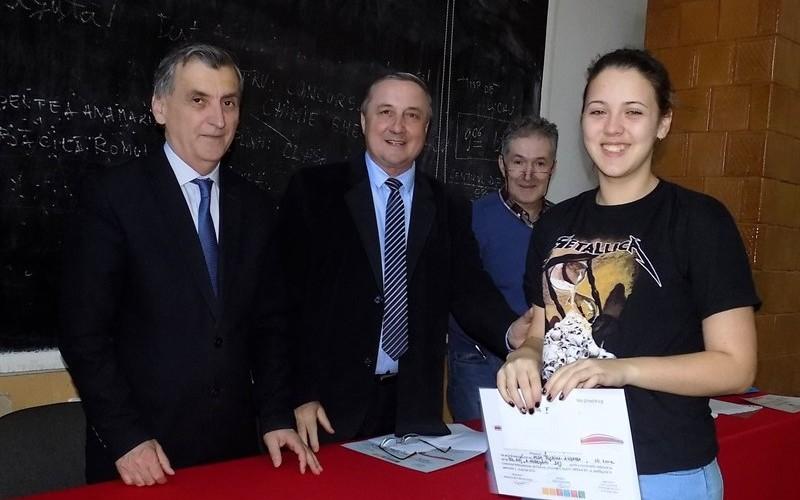 "Concurs Interjudeţean de Chimie ""Gheorghe Spacu"" – ediţia a XII – a"