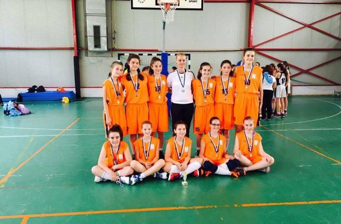 "Echipa de minibaschet a CNAM Dej, argint la Cupa ""For You Baschet"" – Cluj"