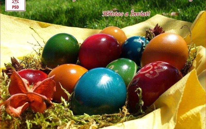 Deputatul Cornel Itu, le urează tuturor dejenilor un Paşte Fericit!