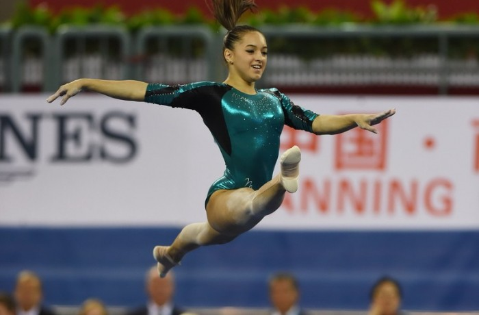 Larisa  Iordache  PHOTO/Greg BAKER