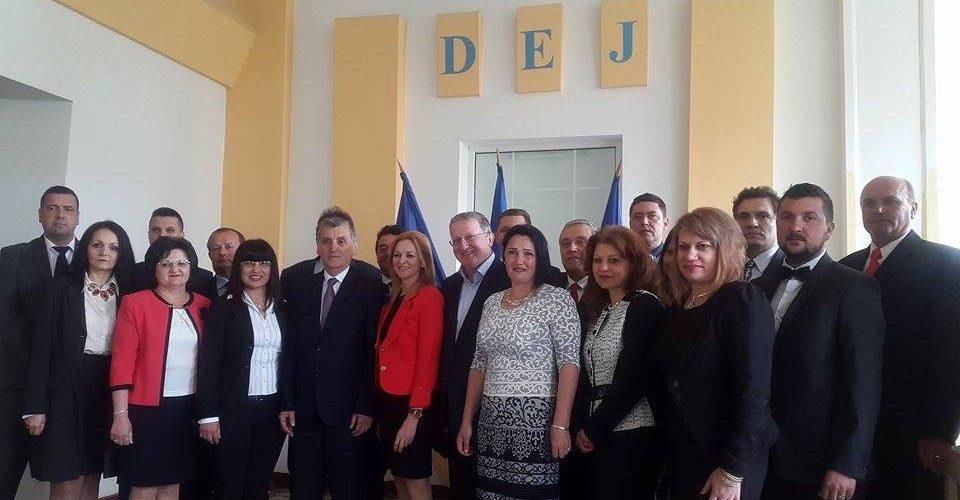 Primarul Costan Morar (PSD) şi-a depus candidatura pentru un nou mandat