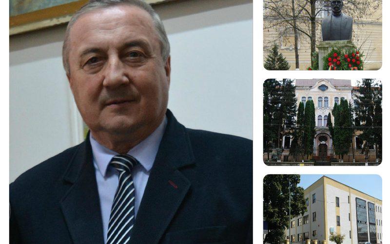 """Prof. Axinte Bob, directorul Colegiulu Naţional """"Andrei Mureşanu"""" din Dej: """"Sunt mândru că pot să las ceva în urma mea!"""""""