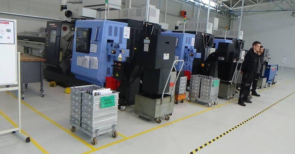 S-a deschis o fabrică nouă pe Platforma Sud a municipiului Dej
