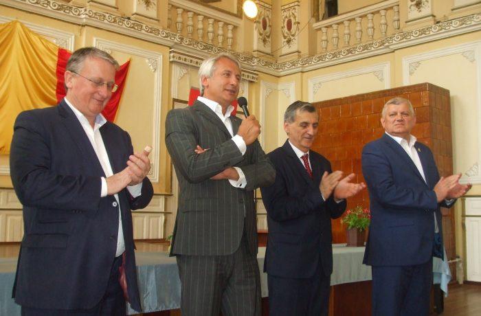 Fostul ministru de Finanţe şi al Fondurilor Europene, Eugen Teodorovici, a fost prezent astăzi la Dej