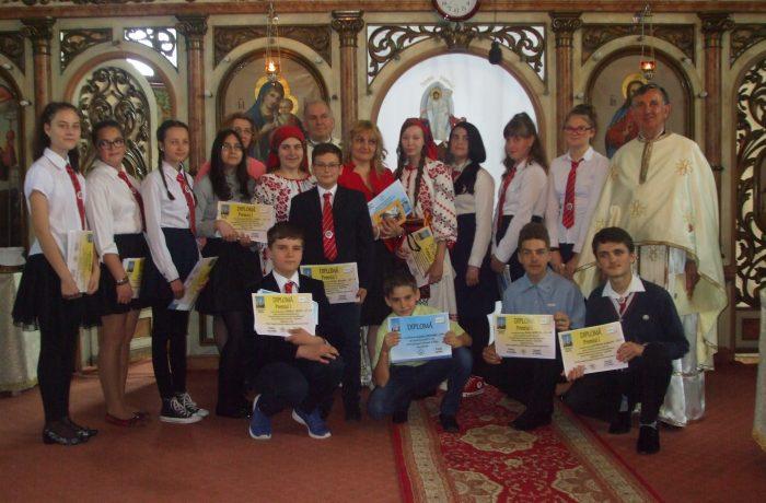 Parohia Ortodoxă Dej II, i-a premiat pe tinerii săi merituoși !