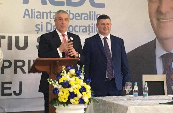 Vicențiu Știr, susținut de Călin Popescu Tăriceanu pentru Primăria Dej – Video
