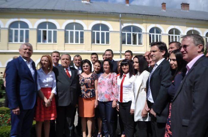 Victor Ponta prezent la Dej, pentru a-i susține pe candidații PSD