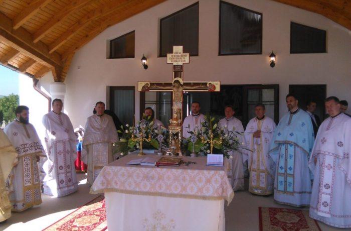 """Sfințirea Capelei ,,Adormirea Maicii Domnului"""" din cimitirul Urișor"""