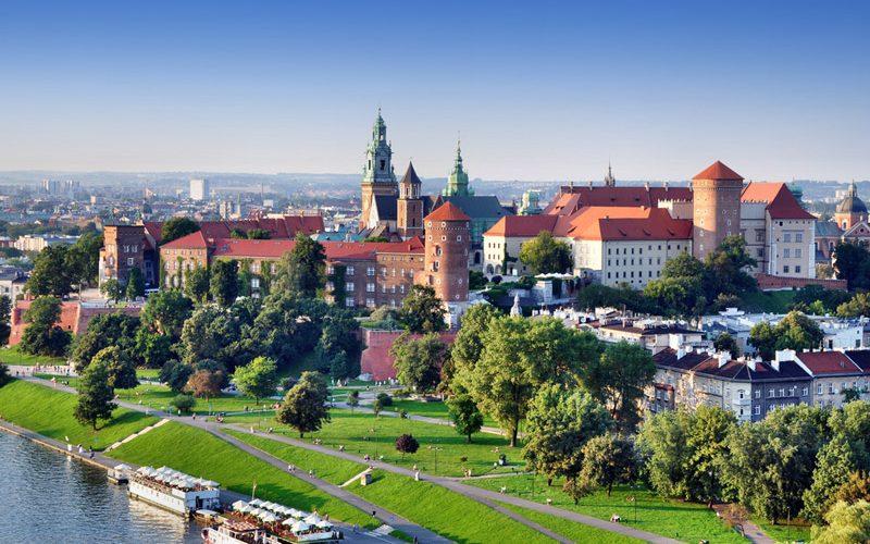 Cracovia - Castelul Wawel