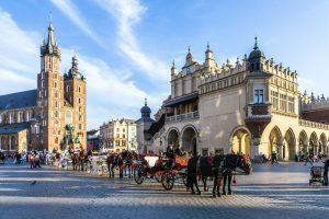 Cracovia - Piața Centrală