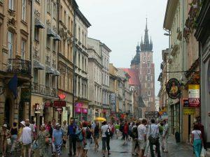 Cracovia - Stradă centrală