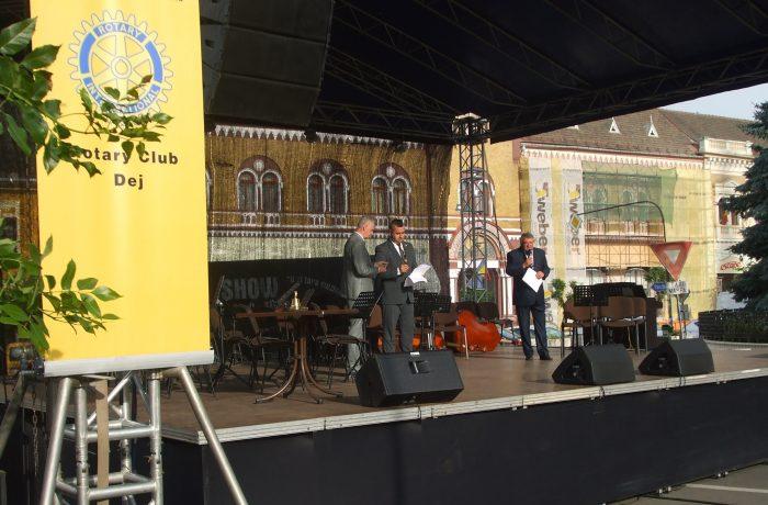 Aniversare Rotary Club Dej: o zi întru cultură, dăruită orașului