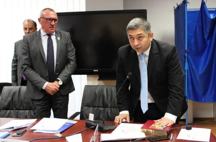 Alin Tișe, noul președinte al CJ Cluj. Dejeanul Marius Mînzat, vicepreședinte.