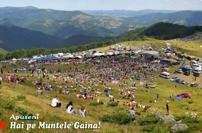Hai pe Muntele Găina, hai pe muntele dragostei!