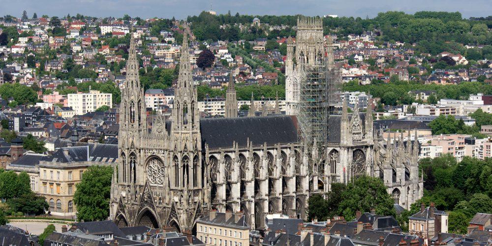 Rouen – orașul celor o sută de clopotnițe