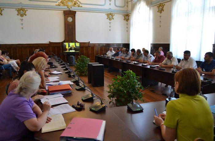 Videoconferința cu prefecții, primarii şi președinții CJ