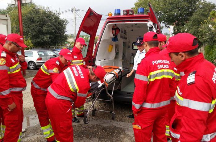 Ambulanţă de terapie intensivă mobilă, pentru SMURD Cluj