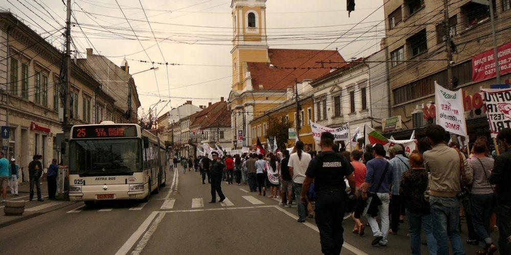 """Cluj: Protest de solidaritate cu """"medicii care sparg tăcerea"""""""