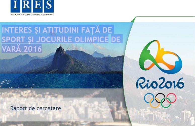 Studiu IRES:  cei mai iubiți sportivi și  sporturile preferate ale românilor
