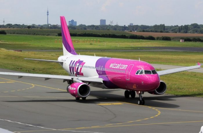 Două  zboruri Wizz Air, noi, de pe Aeroportul din Cluj-Napoca