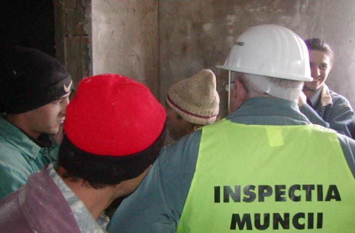 Inspecția Muncii: acțiuni de control și amenzi în august