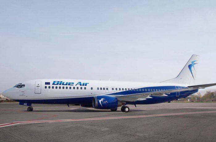 De la Cluj, la Tel Aviv, cu Blue Air